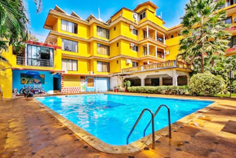 Peninsula Beach Resort (3 Star), Calangute Beach, North Goa