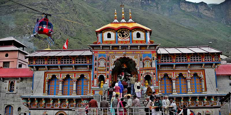 Do Dham Yatra Same Day 2020 (Ex-Dehradun) By Helicopter