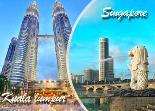 Kuala Lumpur + Singapore + Cruise