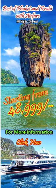 Best of Phuket and Krabi with Airfare ( 5 Nights )
