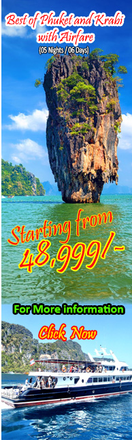 Best of Phuket and Krabi with Airfare ( 5 Nights )