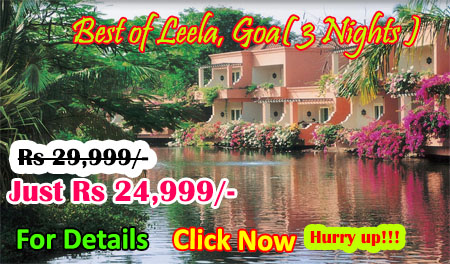 Best of Leela, Goa( 3 Nights )