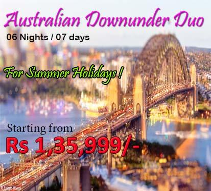 Australian Downunder Duo( 6 Nights )