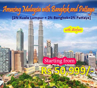 Amazing Malaysia with Bangkok and Pattaya