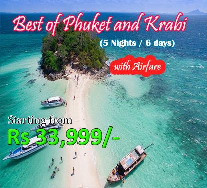 Best of Phuket and Krabi with Airfare