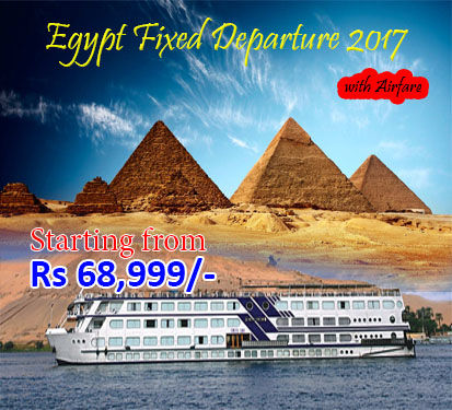 Egypt Fixed Departure 2017