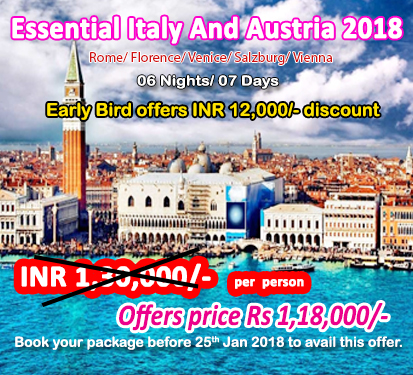 Essential Italy And Austria 2018
