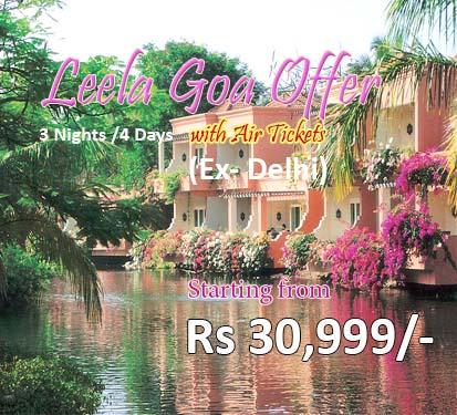 Leela Goa Offer