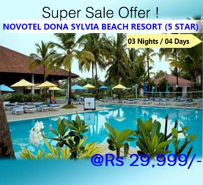 Novotel Dona Sylvia Beach Resort (5 Star)