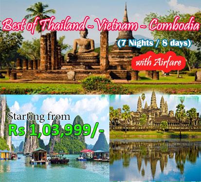 Best of Thailand-Vietnam-Combodia